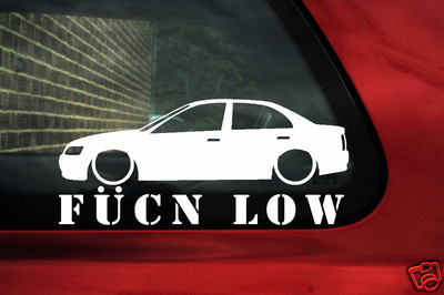 Aufkleber Sticker Umriss Fukn Low F R Honda Accord Euro Typ R VTi - Stickers for honda accord