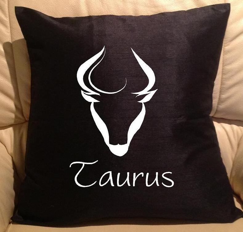 Horoscope Star Sign Taurus Pillow Sofa Cushions P