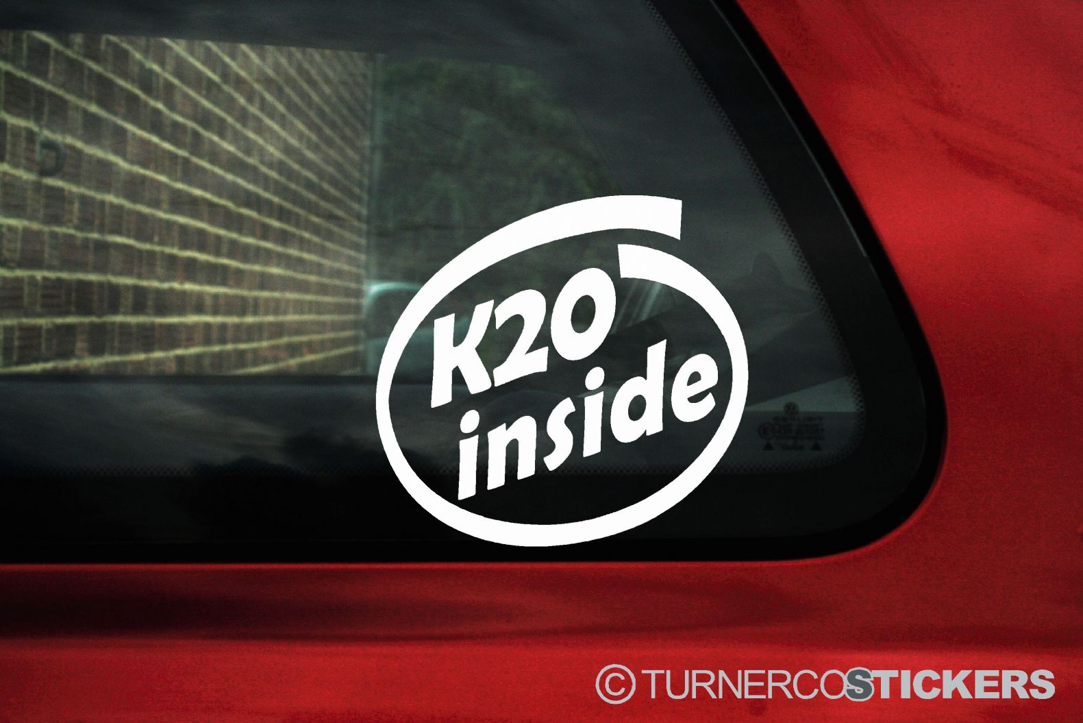 K20 inside sticker. For Honda