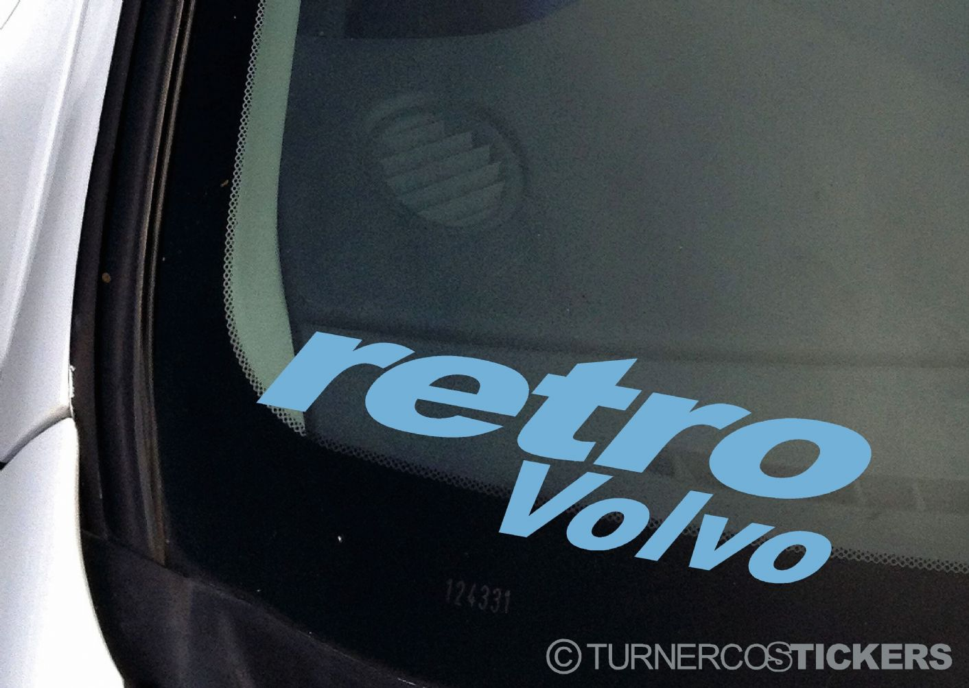Retro Volvo Car Sticker Decal To Fit Any Old School Volvo