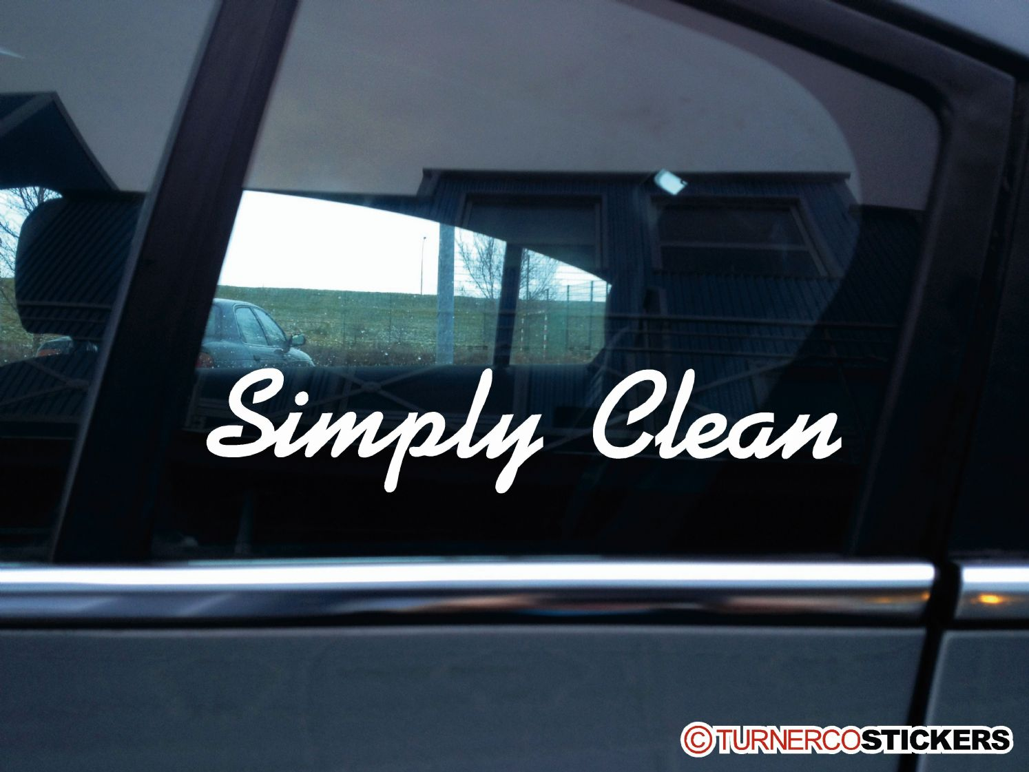 Simply Clean Stanced Show Car VAG JDM Stickers - Car show stickers