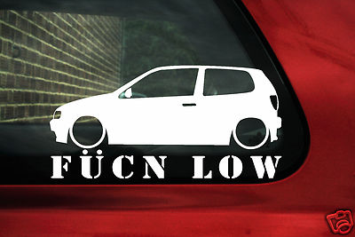 2x Aufkleber Polo 6n Fukn Low F R Vw Polo Gti 6n Mk3