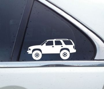 """2x /""""There are no roads where we../"""" funny offroad 4x4 jeep truck stickers"""