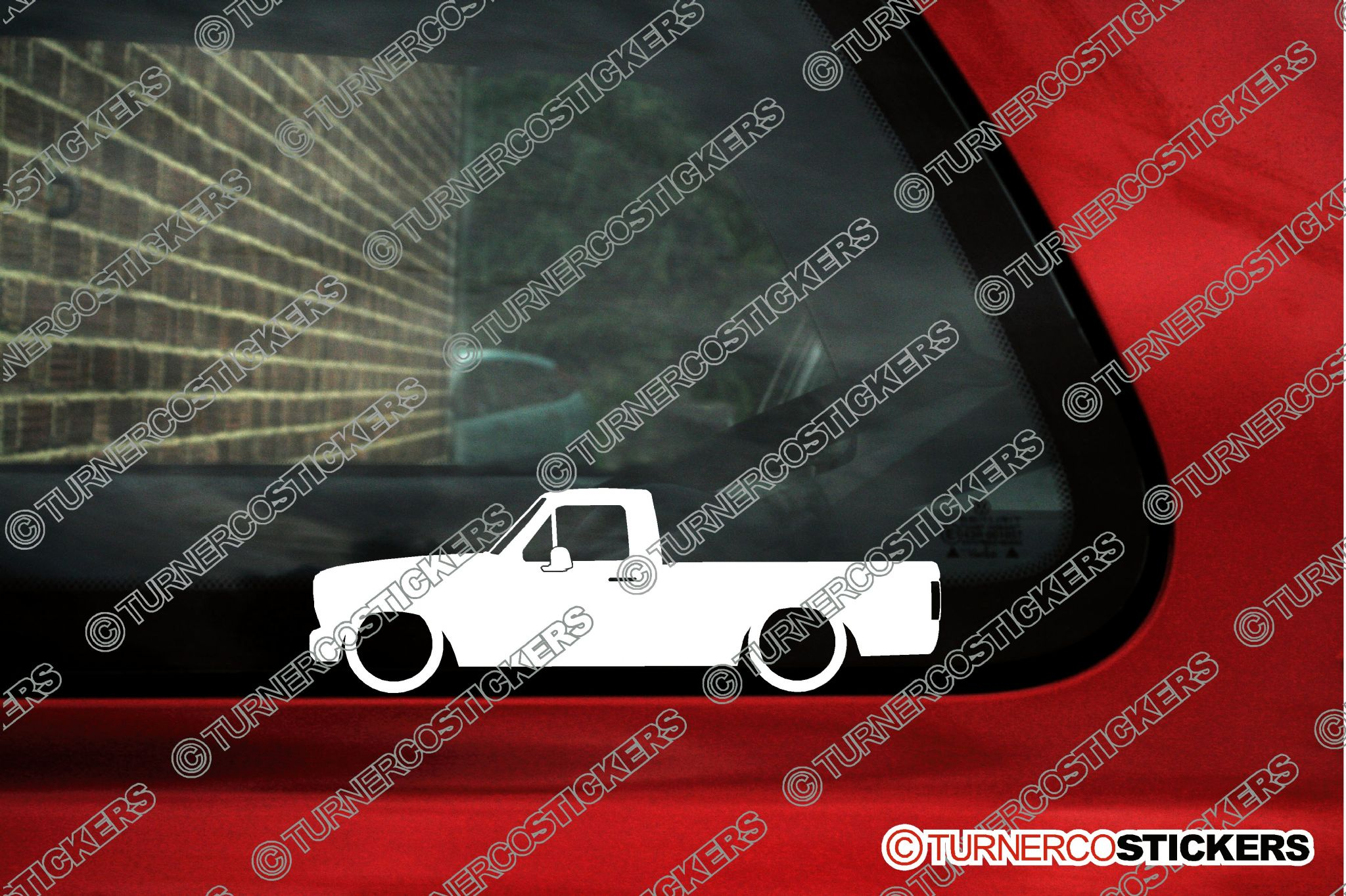 2x Lowered Truck Stickers For Ford F150 F100 7th Gen 1980 1986 F 150 Pickup Classic