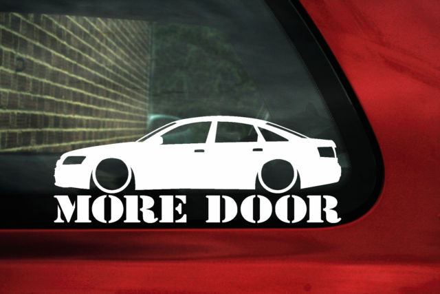 Audi A6 S6 C6 More Door Sticker Decal For A6 2 8 3 2 V6