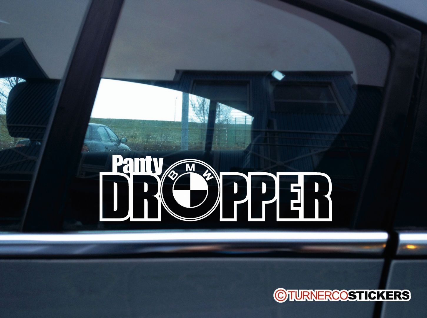 Funny Car Sticker Panty Dropper V2 Decal Vinyl Sticker